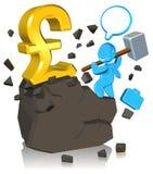 pieniądze target1797_0_ Obrazy Stock