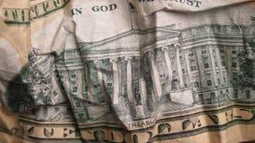 Pieniądze Tekstura Dolarowy Bill Zdjęcie Stock