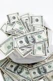 Pieniądze Torba Zdjęcia Stock