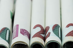 Pieniądze Turecki lir zdjęcie stock