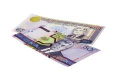 Pieniądze Turkmenistan Obrazy Stock