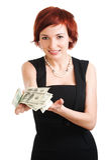 pieniądze twój Fotografia Stock