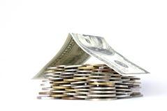 pieniądze w domu Obraz Stock