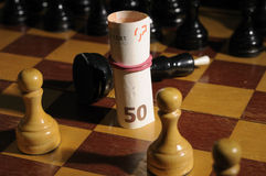 pieniądze wygrywa Zdjęcie Stock