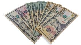 Pieniędzy dolary Obraz Stock