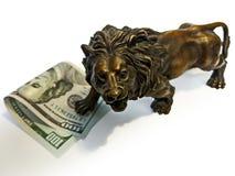 Pieniędzy Finansowi Inwestorscy dolary Zdjęcie Royalty Free