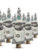 pieniędzy kreatywnie drzewa Obraz Stock