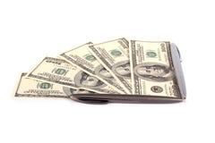 pieniędzy listowi pióra Fotografia Stock