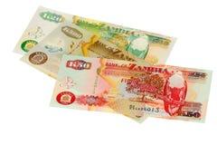 pieniędzy zambiowie Obraz Royalty Free