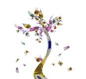 pieniądze drzewo Obrazy Stock