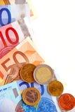 pieniądze euro Zdjęcie Stock