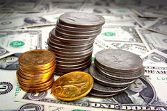 Pieniądze stos Obraz Stock
