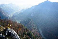 Pieniny - Dunajec river gorge Royalty Free Stock Image
