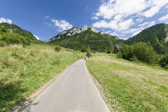 Pieniny Mountain Royalty Free Stock Photos