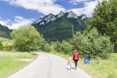 Pieniny Mountain Stock Photography