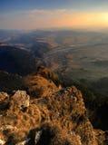 The Pieniny Mountains Stock Image