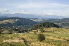 Pieniny Mountains Royalty Free Stock Photos