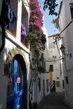 Via di Cadaques in Catalogna, Spagna Immagine Stock Libera da Diritti