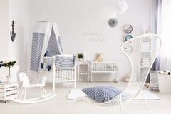 In pieno di luce e di amore per il neonato Fotografia Stock