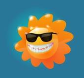 Pieno di sole in occhiali da sole Fotografia Stock Libera da Diritti