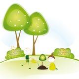 Piense el verde Foto de archivo libre de regalías