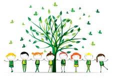 Piense el verde Imagen de archivo libre de regalías