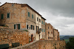 Pienza, Τοσκάνη Ιταλία στοκ φωτογραφίες με δικαίωμα ελεύθερης χρήσης