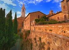 pienza Тоскана Стоковое Изображение RF