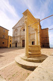 Pienza cathedral Royalty Free Stock Photography