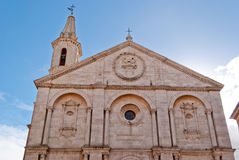 Pienza Cathedral Stock Image