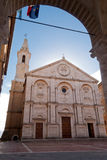 Pienza Cathedral, Tuscany Royalty Free Stock Photography