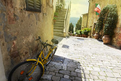 Pienza city Stock Image