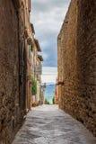 Pienza en Toscane en Italie image libre de droits