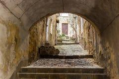 Pienza en Toscane en Italie image stock