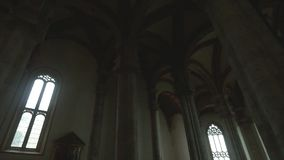 Pienza, Interior of the Cathedral stock footage