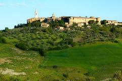 Pienza Italie Photo stock