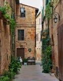 Pienza, Italie Photos libres de droits