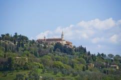 Pienza Italien Royaltyfria Foton