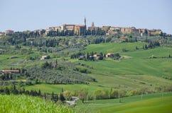 Pienza Italien Arkivbild