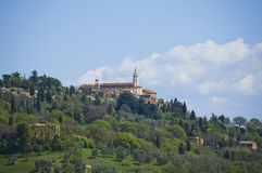 Pienza, Italy Royalty Free Stock Photos