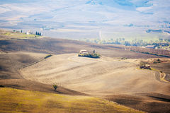 Pienza Landscape Stock Photography