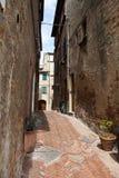Pienza patios. Italy. Royalty Free Stock Image