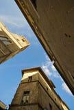 pienza s ландшафта здания Стоковые Изображения RF