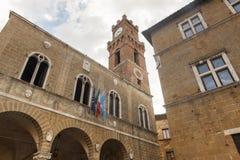 Pienza (Siena) Stock Image