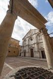 Pienza (Siena) Royalty Free Stock Photo