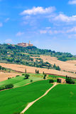 Pienza - Toscanië royalty-vrije stock fotografie