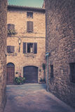Pienza in Toscanië Royalty-vrije Stock Afbeelding