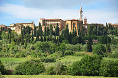 Pienza town , Italy Stock Images