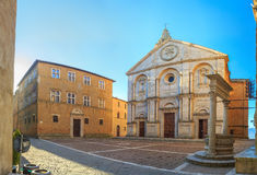 Pienza, a town in the Val d'Orcia in Tuscany Royalty Free Stock Images