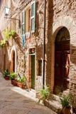 Pienza Tuscany Fotografering för Bildbyråer